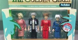 今年纽约动漫展上,最炙手可热的人偶模型《黄金女郎》