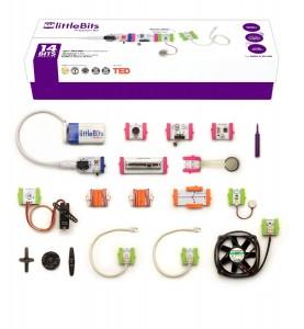 电子产品littleBits工程玩具高级套件