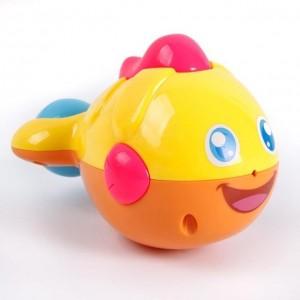 会喷水的小丑鱼